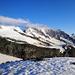 Das Panorama wird grösser und die Berge kleiner