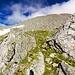 Prati verdi, lasciano spazio sempre più a grigie rocce