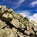 Cima P. 3066, accumulo di roccia