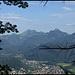 Die Rückwand des Sudelfeld über Kiefersfelden.