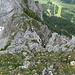 erst mal Abwarten bis der Abstieg über den Klettersteig frei ist