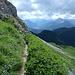 und weiter geht es Richtung Einstieg Klettersteig