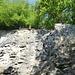 erste Eindrücke vom Steinbruch