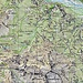 Das Einsatzgebiet in der Gegend der Alpe Alzasca und des Pizzo Cramalina. Der Weg von Piandalevi nach Tramossa ist bei dieser Auswahl der Kartengrösse nicht sichtbar.