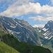 ab dieser Anhöhe wir der Blick frei zum Alpstein, dem Säntis und dem Lisengrat.