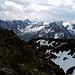 Im Süden Richtung Stubaier Alpen sieht's auch nicht viel besser aus.