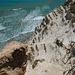 Blick nach unten vom Capo Bianco