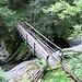 Il Ponte Q1255 che porta verso il Campel (noi proseguiamo lungo la valle)