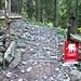 Cancelletto prima Alpe Gamba in Fora