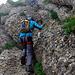 Am Speer Klettersteig.