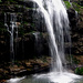 Wunderschöner Wasserfall am Wängibach.