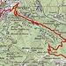 Bike-Route Bellinzona - Capanna Gesero