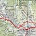 Wanderteil Capanna Gesero - Marmontana - Bocchetta del Lago - Capanna Gesero