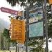 <b>I segnavia indicano una quantità incredibile di percorsi e di mete escursionistiche raggiungibili a piedi o con il rampichino. </b>