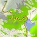 <b>Tracciato GPS Sunnig Grat (parte bassa).</b>