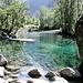 La pozza del torrente che è tra i luoghi più suggestivi e fotografati della neonata Riserva Naturale della Val di Mello.