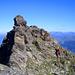 Bergziege auf dem Weg zum Piz Dadens