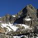 Das heutige Gipfelziel: Gletschhorn via Südgrat.