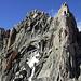 Der Gipfelaufbau des Gletschhorns.