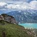 Blick vom Dalfazer Roßkopf zur Rotspitze