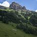 Rotspitze gesehen von der Dalfazalm