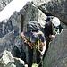richtige Kletterstelle