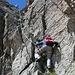 Kletterstelle zu den Radüner Chöpf