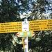 <b>Il segnavia indica per la prossima tappa, ossia Stabbiascio, 50 min di cammino.</b>