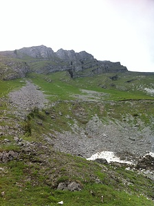 Kanisfluh (2044m); Blick Richtung Runder Kopf und Sonnspitzgipfel. / Kanisfluh; vista verso Runder Kopf e Sonnspitzgipfel. © dasMue