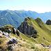 La cresta verso il Cainallo