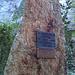Ramserna : monument en l'honneur de Gratien Volluz, prêtre et guide prieur de l'Hospice du Simplon.