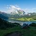 Alpgebäude bei Fällätschen