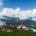 Hier gäbe es eine Möglichkeit über einfaches Gelände durch die Fanenhöli zur Hohfläschenhütte zu gelangen. Im Winter ist das der Normalweg zum Schiberg Nordgipfel.