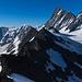 Finsteraar- und Agazisshorn (letzerer Gipfelnamen ist höchst umstritten und war des Öfteren in den Medien).