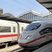 Anreise im ICE 3 bis Basel SBB, wunderbar entspannt ohne umzusteigen.