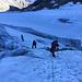 Zone crevassée du Riedgletscher vers 3300m