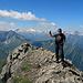 es war ein spezieller Aufstieg auf das Güner Horn, die Freude oben auf dem Gipfelgrat war dementsprechend gross.