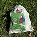 viele derartige Säckchen haben wir von der Capanna Adula UTOE ins Tal getragen - und werden deren Inhalt (Pet und Abfall) fachgerecht entsorgen<br />(vom Kanton Tessin unterstützte Recyclingsmethode)