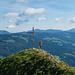 [u Stijn] beim Gipfelkreuz, ebenfalls am Fotografieren
