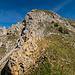 ... ansonsten gerät man in sehr steiles und unübersichtliches Gelände mit viel losem Schutt (bei der Furgge)