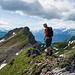 Nach diesem Zwischenstück folgt nochmal ein steiler aber gut gestufter Abstieg