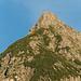 Foto von Felix, aufgenommen beim Schlierersee. Ich bin ein drei Pixel (habe nachgezählt) hoher Strich auf dem Gipfel. :-)