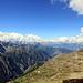 Saastal et Alpes bernoises.