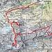 Routenverlauf Tag 2<br /><br />Quelle: SchweizMobil
