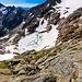 Il magnifico laghetto del ghiacciaio Tencia