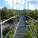 schwankende Hängebrücken sind ebenso vorhanden ...