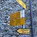segnaletica a Monte di Predee