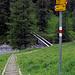 Wegweiser im Val Trupchun.