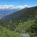 Val de Réchy mit Blick auf die Berner Alpen