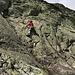 La veille, entrainement à la grimpe en grosses de l'autre coté de la vallée